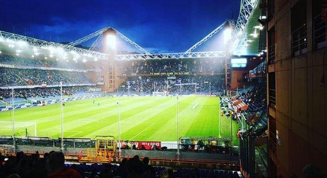 Sampdoria-Roma, resta il rischio rinvio: domani la decisione della Protezione Civile