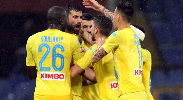 Sampdoria-Napoli, le pagelle: Koulibaly alza la diga. Milik esulta in faccia ai cretini di Marassi, Callejon è solo un ricordo lontano