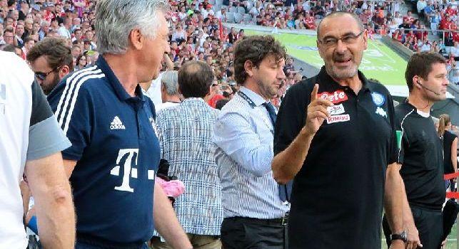 Sarri e Ancelotti