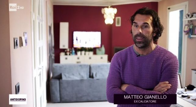 Matteo Gianello in diretta su RAI 2