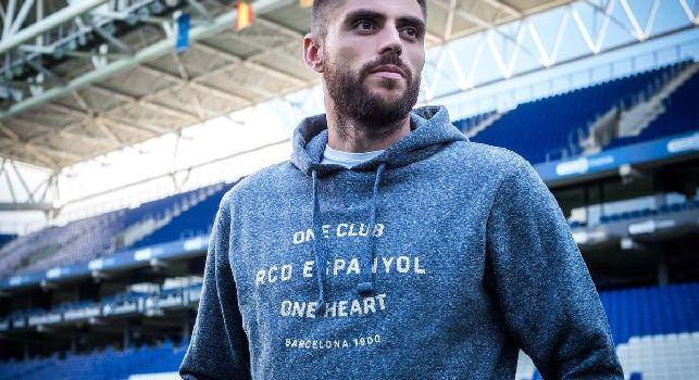 David Lopez, centrocampista dell'Espanyol