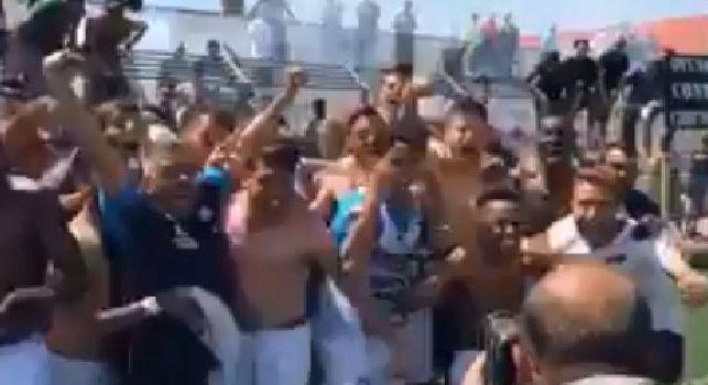 Il Napoli Primavera strapazza la Sampdoria e centra la salvezza: esultanza da brividi a Sant'Antimo [VIDEO]