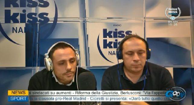 Kiss Kiss, De Luca: Assurdo non segnare neanche una rete!