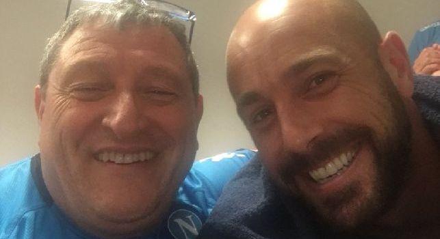 Selfie di Starace con Reina: Campione di calcio e di vita [FOTO]