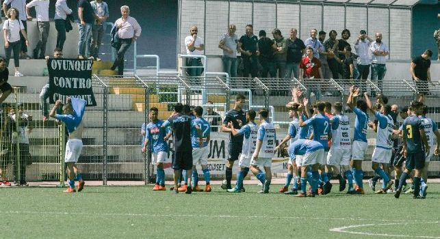 Primavera, Napoli-Samp 3-1: gli azzurrini di Beoni sono salvi! Al fischio finale grande festa in campo [VIDEO]