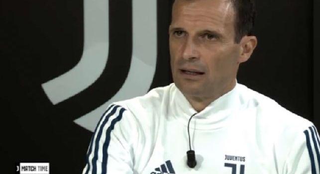 Juve, Allegri: Col Napoli ci siamo incasinati, meglio così: in caso di pari avremmo perso con l'Inter [VIDEO]