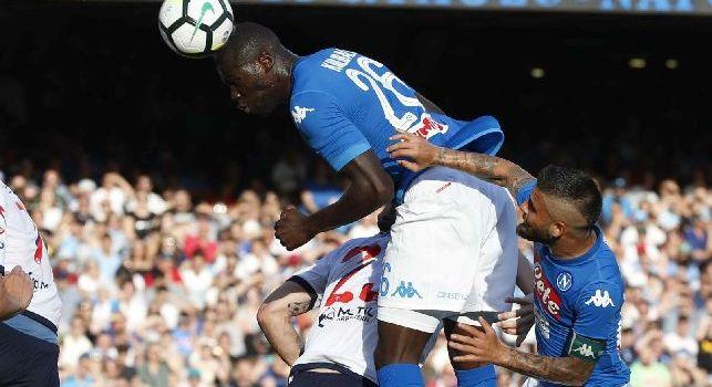 Koulibaly e Allan inseriti nella top 11 serie A dell'Uefa: il comunicato ufficiale