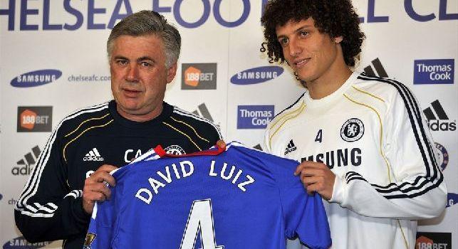 David Luiz, Chelsea. De Laurentiis lo vuole con uno sconto cedendo Sarri