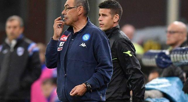 TuttoSport - <i>Rischio Chelsea</i> per Raul Albiol, no del Napoli a Courtois e David Luiz: per Sarri chiesto l'importo della clausola