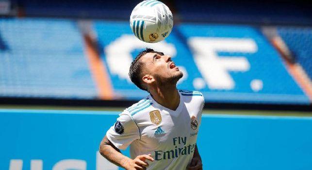 Ceballos prende in giro Ruiz sull'interesse del Napoli twittando in italiano: Fabbiano, ciao!