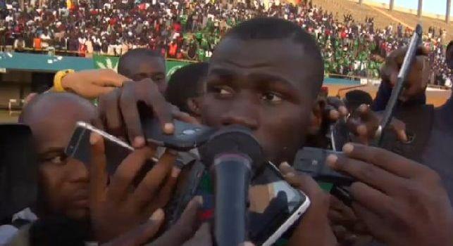 Effetto Mondiale, Koulibaly quanti microfoni per un'intervista col Senegal [FOTO]