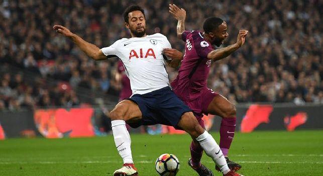 Moussa Dembele, centrocampista del Tottenham seguito dal Napoli
