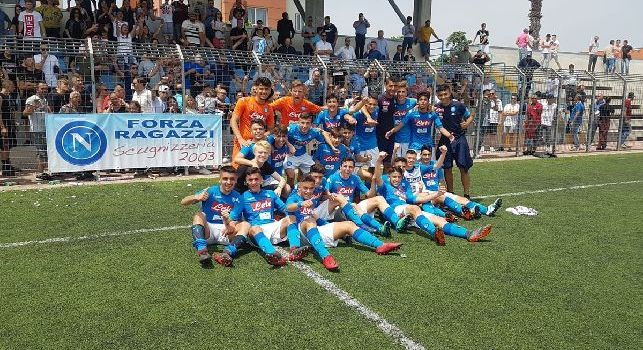 La SSC Napoli Under 15 si qualifica alle Final Four Scudetto, il club: Complimenti, bravi bravi bravi