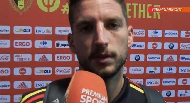 Dries Mertens  intervista Belgio - Portogallo