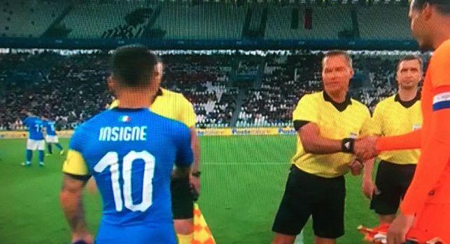 Italia, Insigne capitano contro l'Olanda: è il primo giocatore nella storia del Napoli! [VIDEO]