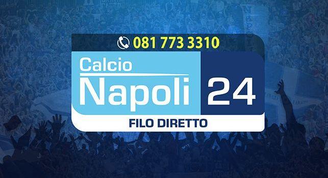 <i>Filo Diretto</i> CalcioNapoli24 alle 19: siete voi i protagonisti del format! Tutto sul mercato del Napoli