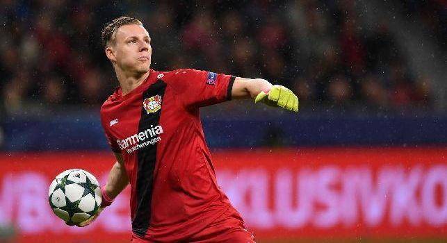Sportitalia: Leno ad un passo dall'Arsenal, 2 mln di distanza col Bayer! Napoli solo al 25%, ma serve nuova offerta