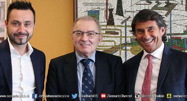 UFFICIALE - Sassuolo, è De Zerbi il nuovo allenatore
