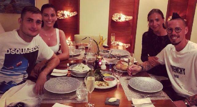 Hamsik: Cena alle Seychelles [FOTO]