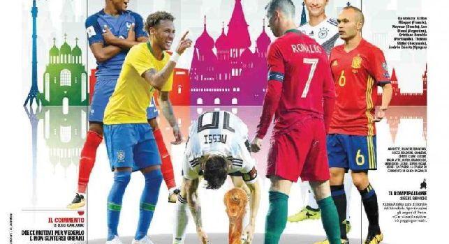 La prima pagina de La Gazzetta dello Sport: Divertiteci un mondo [FOTO]
