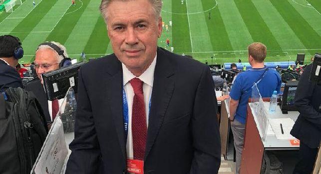 Ancelotti in Russia per i Mondiali: Pronti per la cerimonia inaugurale di questo grande evento [FOTO]