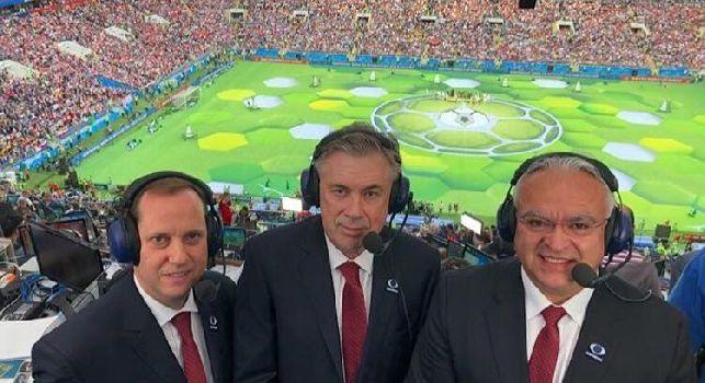 Ancelotti commentatore dei Mondiali per la Tv messicana [FOTO]