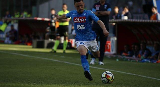 Sampdoria, per la fascia c'è l'idea Mario Rui: difficile arrivare al terzino del Napoli
