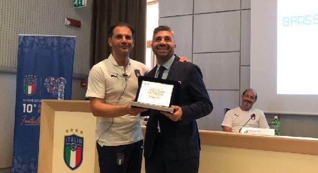 Uefa, premiato il Real Casarea come miglior scuola calcio d'Italia. Il presidente: Lavoriamo sempre per il meglio