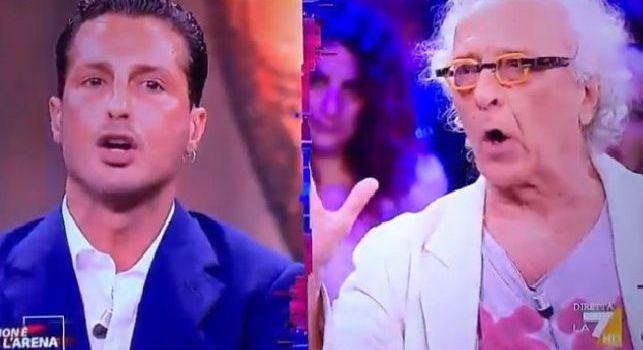 Fabrizio Corona e Giampiero Mughini