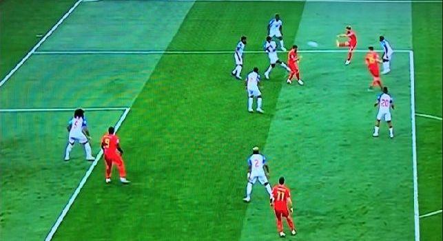 Belgio-Panama, goal pazzesco di Mertens! L'azzurro porta in vantaggio i suoi con una prodezza al volo [VIDEO]