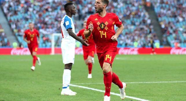 Belgio-San Marino, le formazioni ufficiali: Mertens dal primo minuto, Lukaku ed Hazard completano il tridente