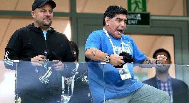 L'Argentina crolla con la Croazia: Maradona disperato in tribuna, ecco le reazioni del Pibe! [VIDEO]