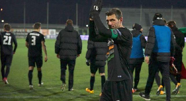 Domizzi: Provo sempre a trasformarmi in attaccante come facevo al Napoli, su Lavezzi...