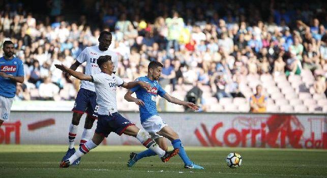 Jorginho, centrocampista del Napoli