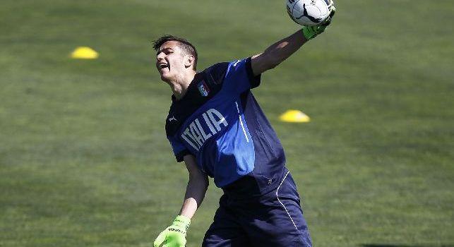 SSC Napoli: Meret e Luperto pareggiano con la Nazionale Under 21