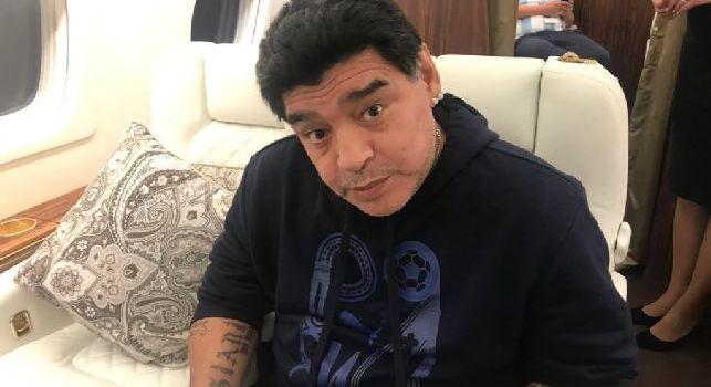 Dall'Argentina: Maradona ricoverato ieri sera, nei prossimi giorni sarà operato per un problema intestinale