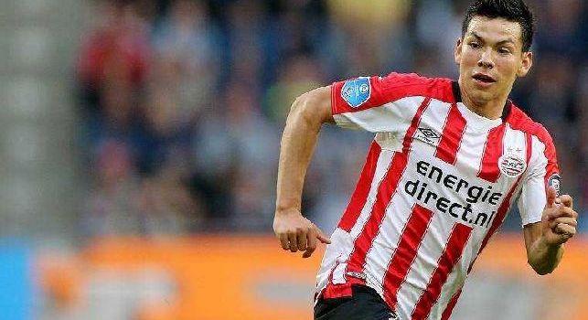 CorSport - Lozano-Napoli, piace non solo ad Ancelotti e Giuntoli: c'è anche il placet di De Laurentiis. Il PSV spara 40 milioni