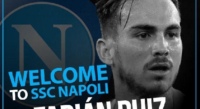 UFFICIALE - Fabian Ruiz-Napoli, contratto fino al giugno 2023