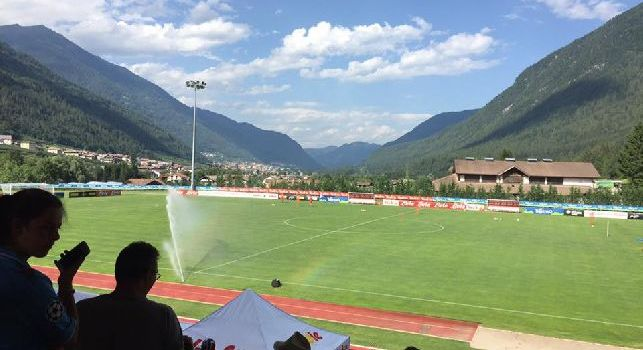 Dimaro-Folgarida, domani allenamento open: potrete seguire la seduta pomeridiana live su CalcioNapoli24 Tv