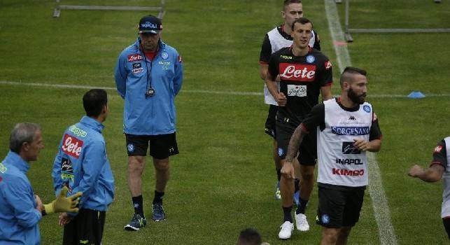 Al via il primo allenamento a Dimaro: inizia ufficialmente il ritiro azzurro in Trentino [FOTO & VIDEO CN24]