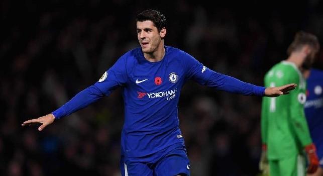 Alvaro Morata al Chelsea