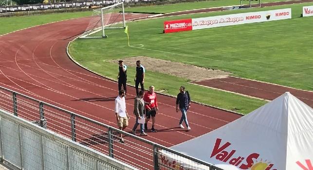 Allenamento mattutino, Ancelotti arriva al campo con Giuntoli e Lombardo. 3 nuovi acquisti già in palestra [FOTO CN24]