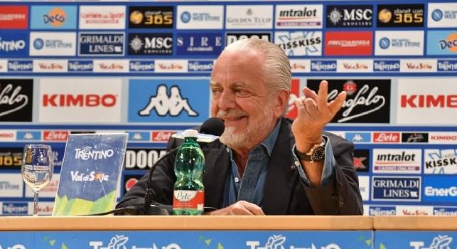 Aurelio De Laurentiis in conferenza stampa