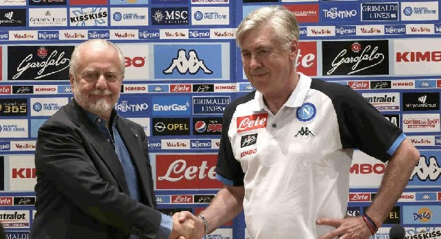 """Il Roma - Il sopracciglio di Carletto diventa un """"tic"""" portafortuna, l'allenatore apprezza tre doti di De Laurentiis"""
