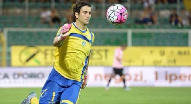Frattali con la maglia del Parma