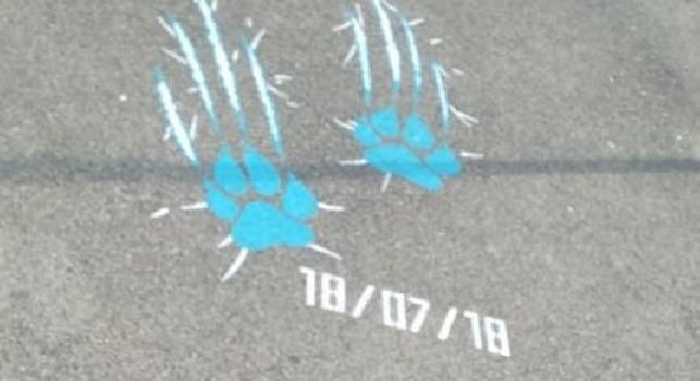 SSC Napoli, Kappa lancia gli indizi della nuova maglia! Città tappezzata di impronte di tigre, svelata la data di presentazione [FOTO]