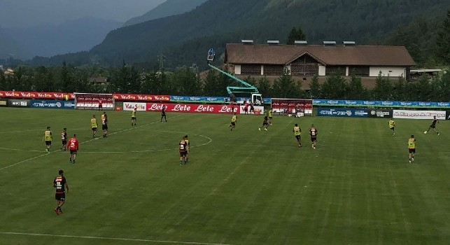 Altra novità tattica per Ancelotti: provato il 4-4-2 a trazione super offensiva! [FOTO]
