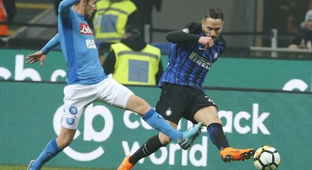 Chiariello: So per certo che D'Ambrosio verrebbe a piedi al Napoli, non vede l'ora di vestire l'azzurro