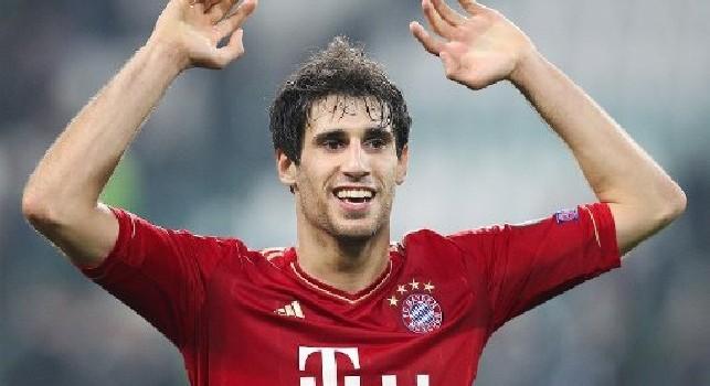 Javi Martinez con la maglia del Bayern Monaco