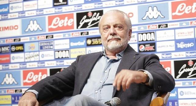 De Laurentiis: Belotti è un bufala! Sabaly si è fatto male, non lo prendo. Falsa anche la notizia su D'Ambrosio